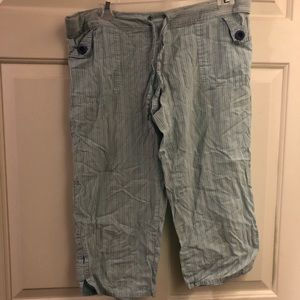 Old Navy XXS long pajama bottoms with pockets